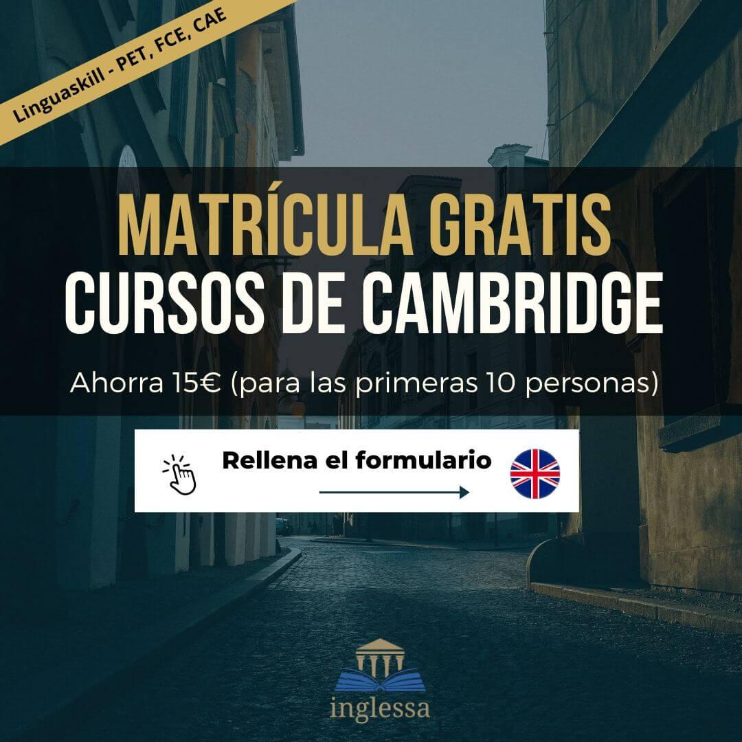 Cambridge Linguaskill Tenerife Curso B1 B2 FCE CAE PET
